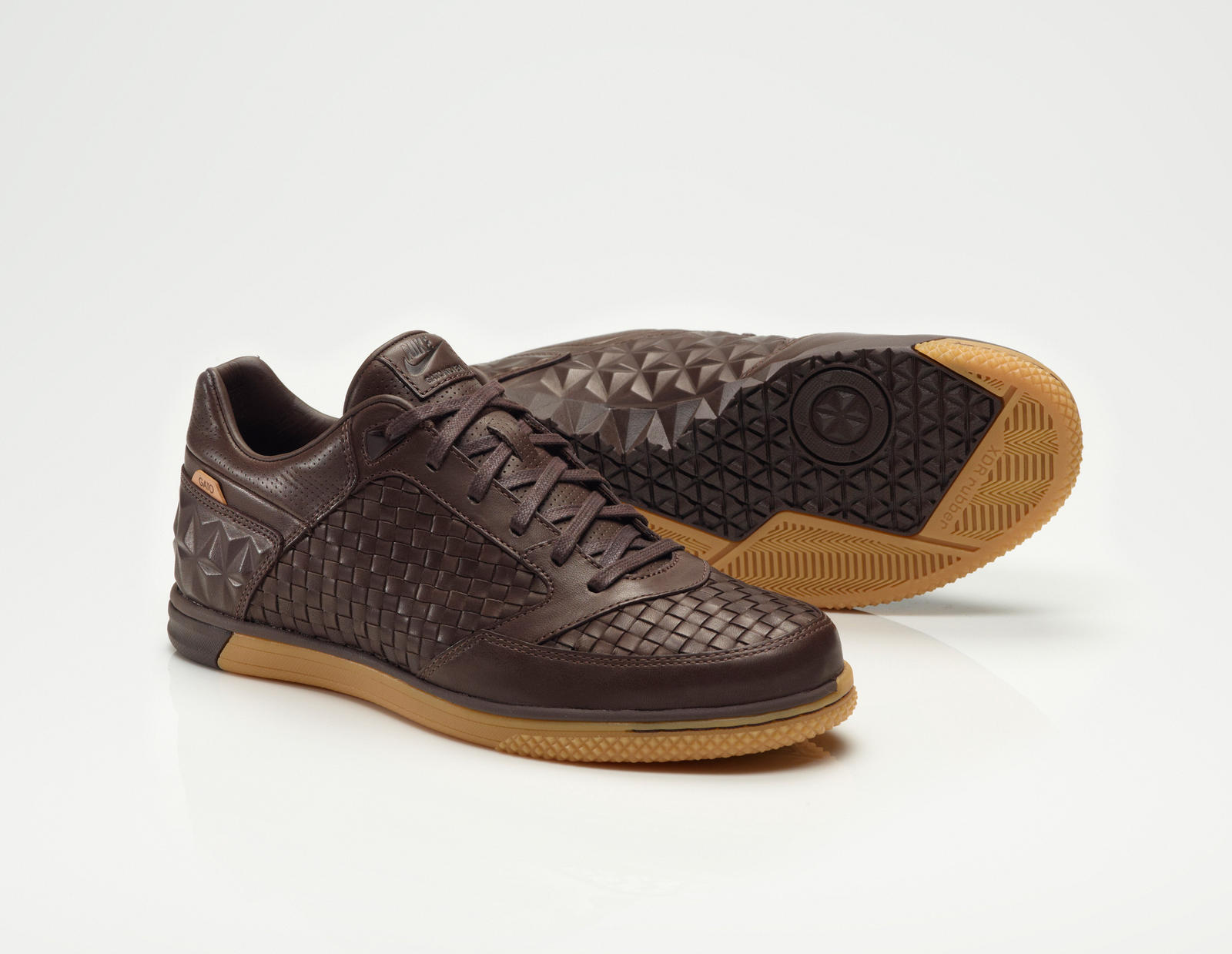 Brown Leather Tennis Shoes Nike