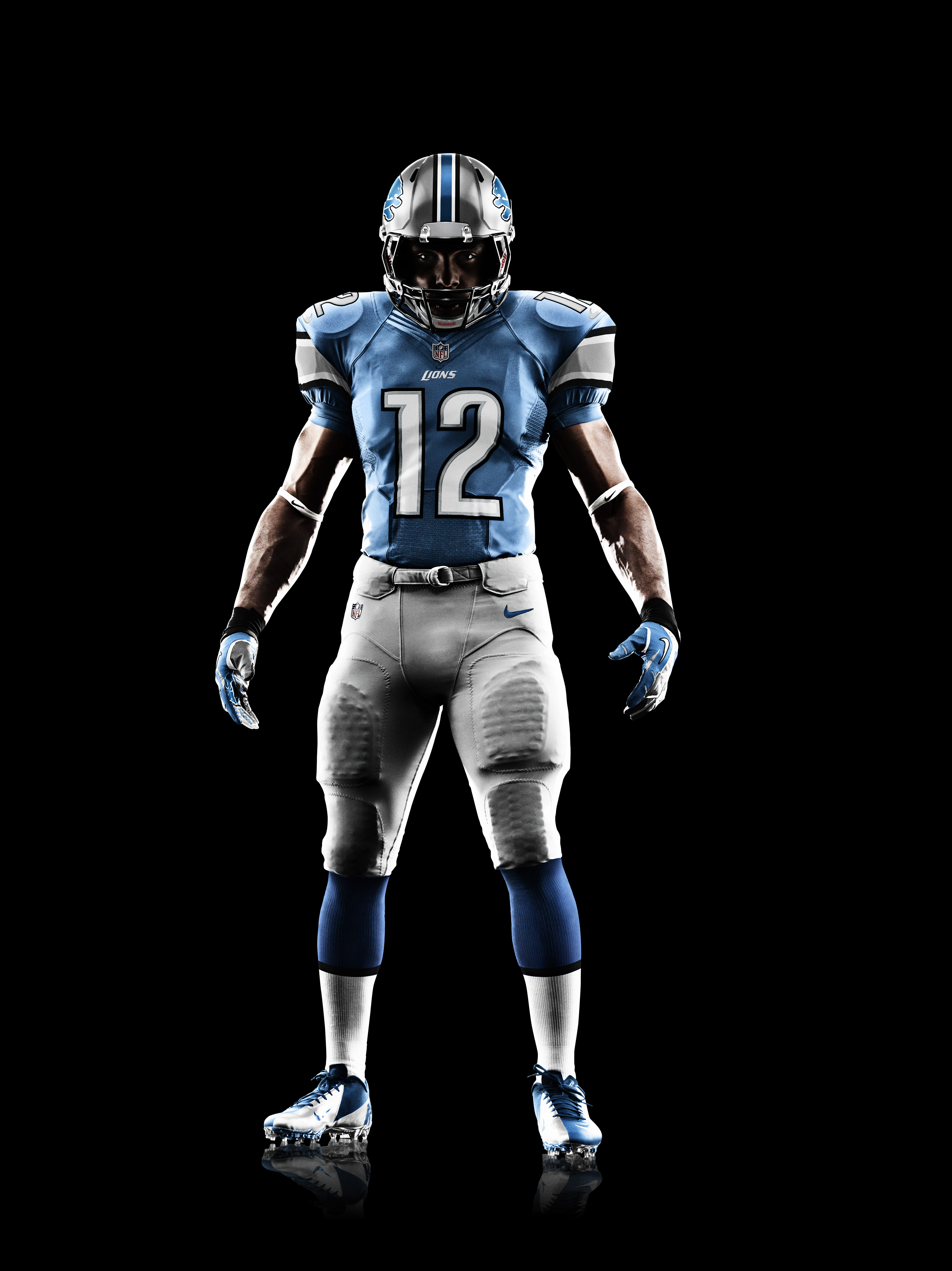 Nike News - Detroit Lions 2012 Nike Football Uniform