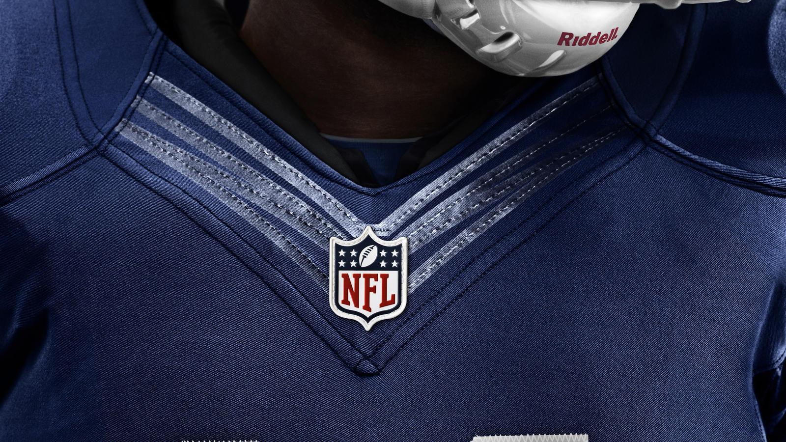 Nike Colts #87 Reggie Wayne White With 30TH Seasons Patch Men's Stitched NFL Game Jersey