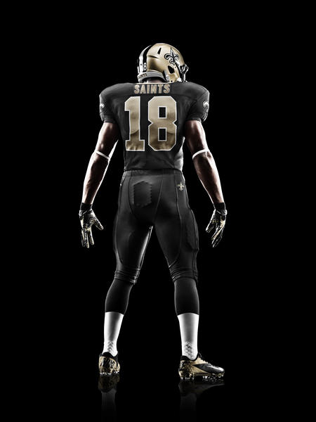 Nike News - New Orleans Saints 2012 Nike Football Uniform