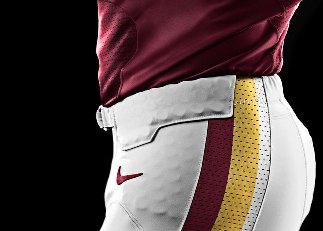 NIKE, Inc. - Washington Redskins 2012 Nike Football Uniform