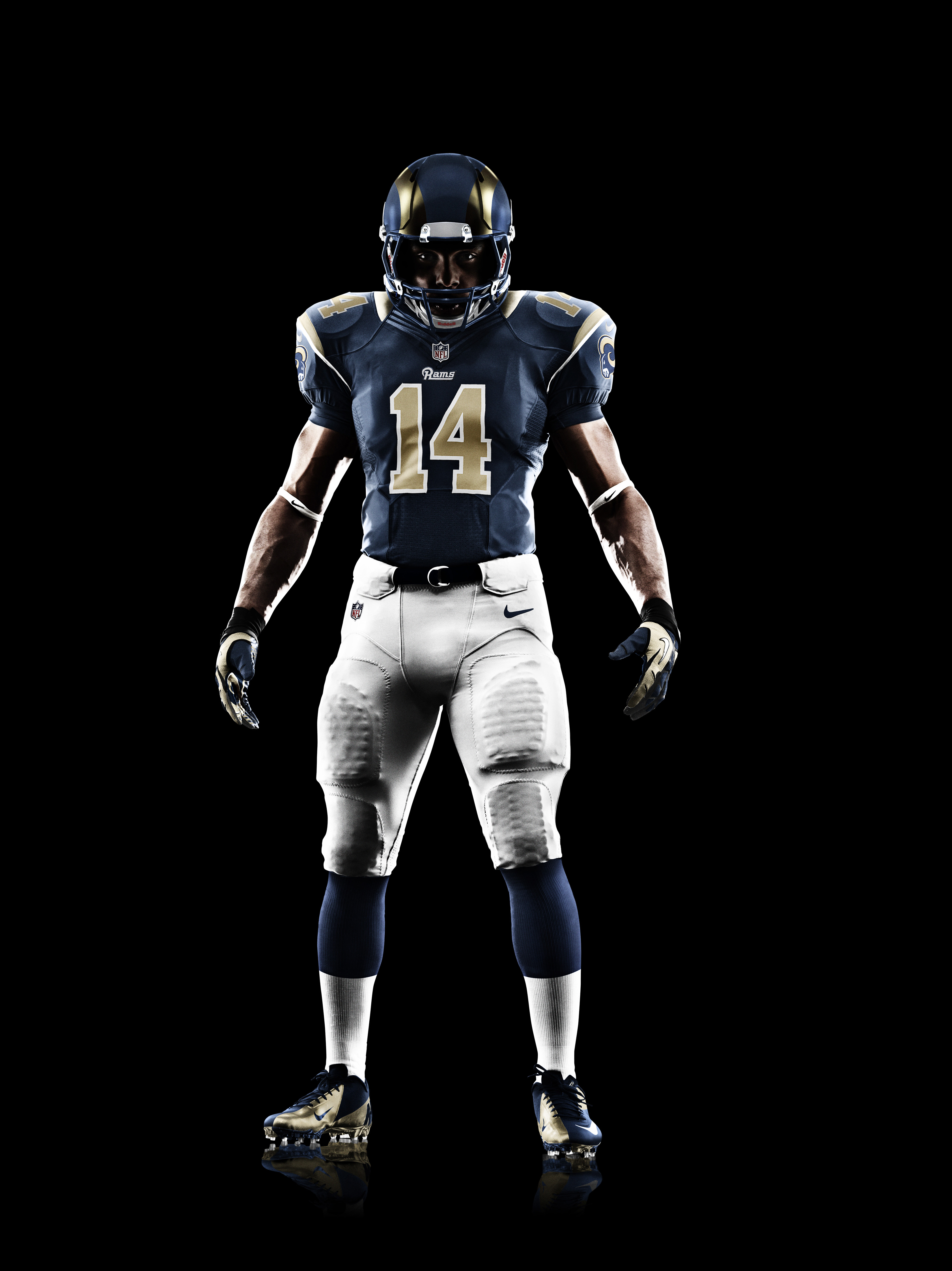 New Nike Rams #25 T.J. McDonald Royal Blue Alternate Men's Stitched NFL  free shipping