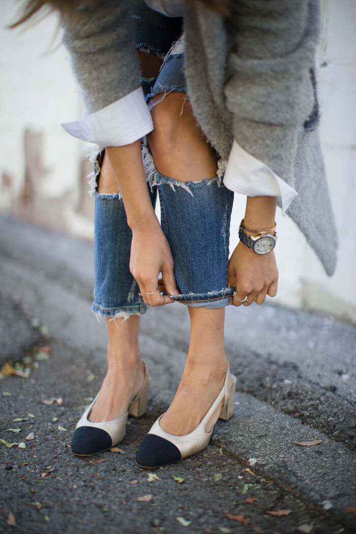 aimee_song_of_style_distressed_denim_jeans_chanel_sandals_movado_wrist_watch-1
