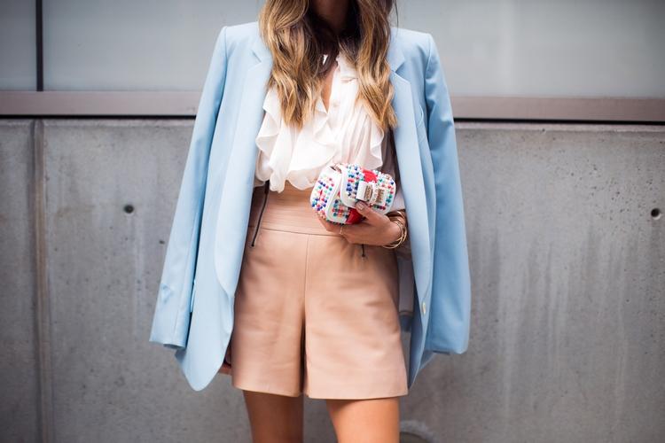 song-of-style-chloe-blazer-christian-louboutin-charity-bag-ruffle-blouse