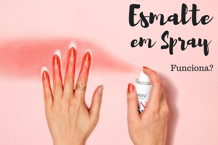 Esmalte em Spray