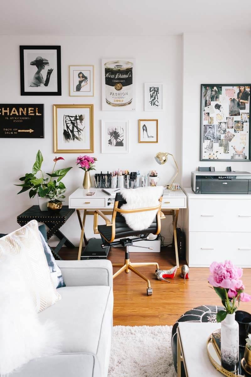 Dicas De Decor Dicas Infal Veis Para Decorar Um Apartamento Pequeno  -> Sala De Estar Decorada Para Apartamento Pequeno