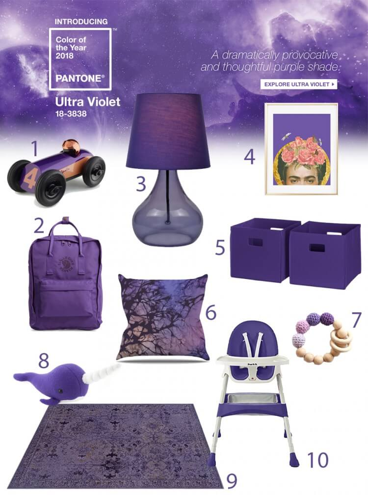 Pantone-Ultra-Violet-for-the-Nursery-and-Baby