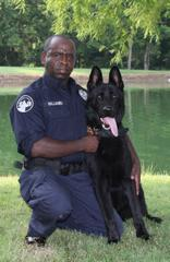 K9 Aron of the Jackson Police Department Passes
