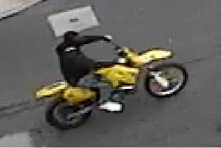 Photo of dirt bike rider who struck a child