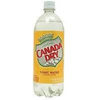 CANADA DRY DIET TONIC WATER 1 LTR - 12/PK