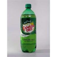 CANAD DRY GINGER ALE 1 LTR - 12/PK