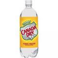 CANADA DRY TONIC WATER 1 LTR - 12/PK