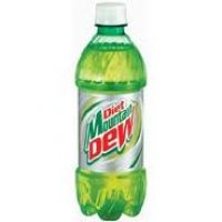 DIET MOUNTAIN DEW 20 OZ - 24/PK