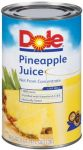 Dole Pineapple Juice 46OZ-12/PK