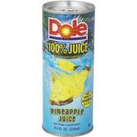 Dole Pineapple Juice 6 OZ 24/PK
