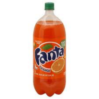 FANTA ORANGE 2 LTR - 8/PK