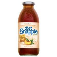 Snapple Diet Peach Tea 16 OZ - 24/PK