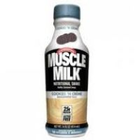 Muscle Milk - Cokkies N Cream 14 oz-12/Pk