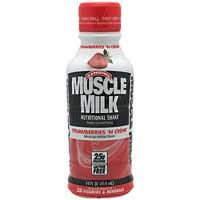 Muscle Milk - StrawBerry 14 oz-12/pack