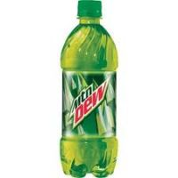 MOUNTAIN DEW 20 OZ - 24/PK