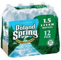 Poland Spring Water 1.5 LTR - 12/PK