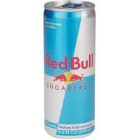 Red Bull Sugarfree 8 OZ - 24/Pk
