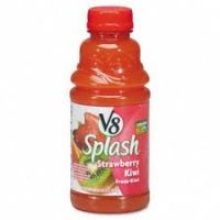 V8 Splash Straw Kiwi 16 OZ - 12/PK