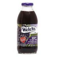 Welch's Grape 16 OZ - 12/PK