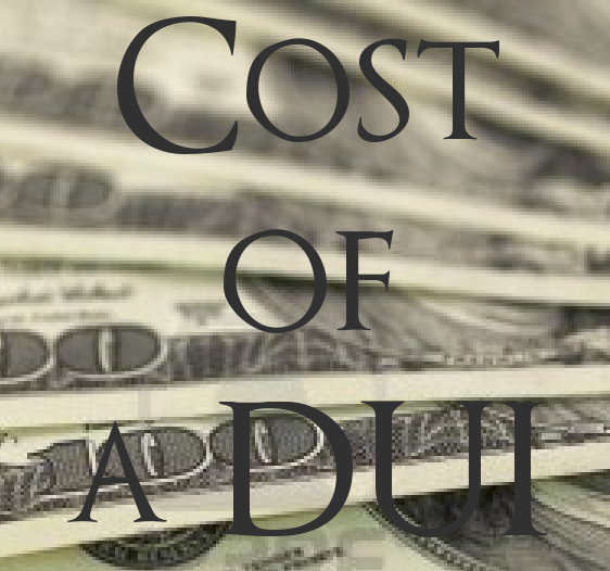 Cost of a DUI