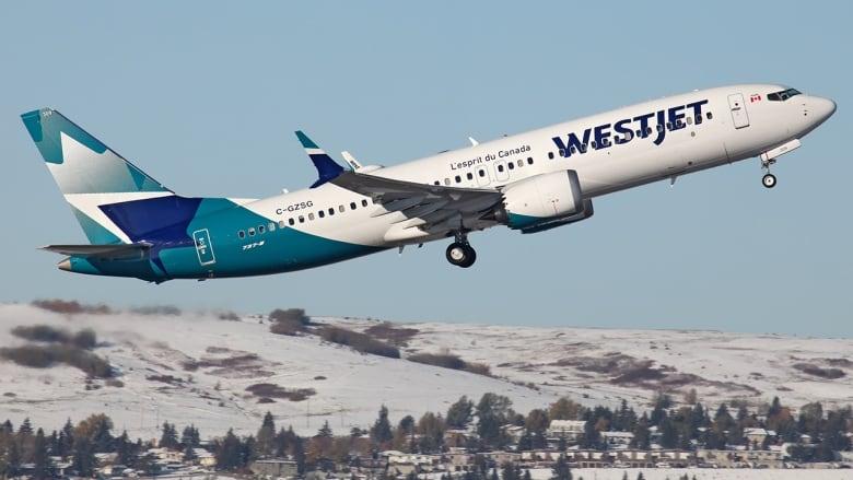 Westjet boeing 737 max 8
