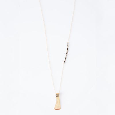Marisa Haskell Columbia Tomahawk Necklace