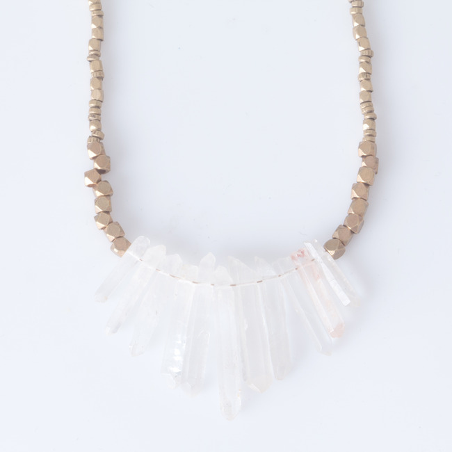 Marisa Haskell - La Paz Crystal Necklace