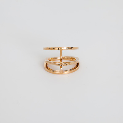 Bliss Lau Gold Vermeil Trapeze Ring