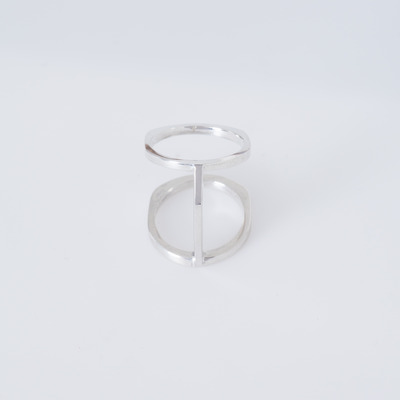 Bliss Lau Silver Bridge Ring