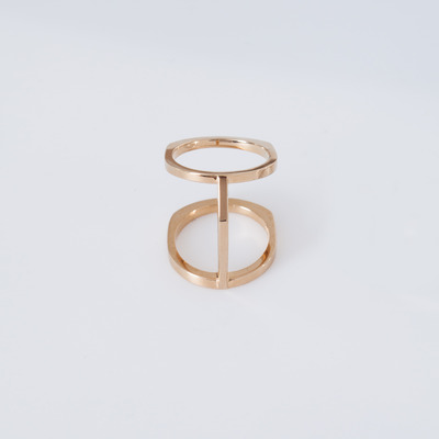Bliss Lau Gold Vermeil Bridge Ring