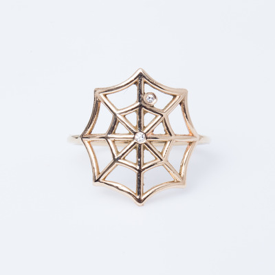 Jennie Kwon Diamond Web Ring