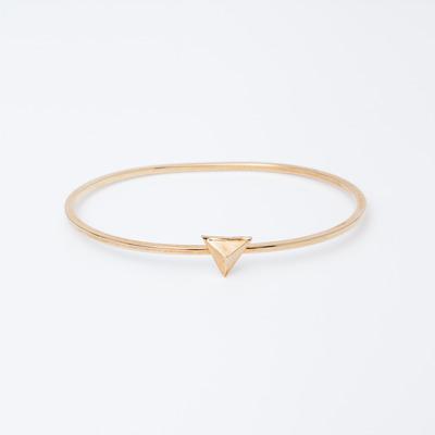 TOMTOM Gold Pyramid Stud Bracelet