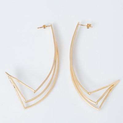 Gillian Steinhardt Ziggurat Drop Earrings