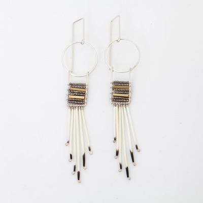 Kyyote Moonrise Beaded Earring