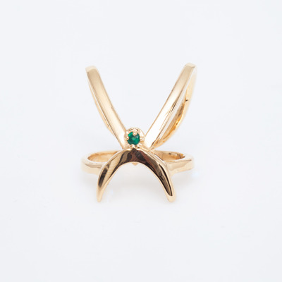 Gillian Steinhardt Gold Prima Knuckle Ring