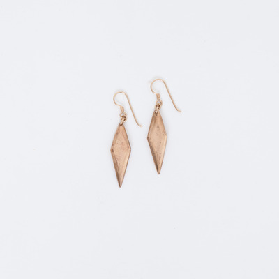 Marisa Haskell Rose Bronze Aurora Earrings