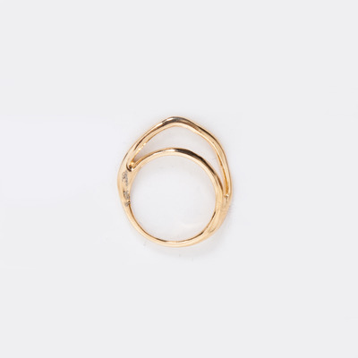 Puro Iosselliani Gold Double Arc Ring