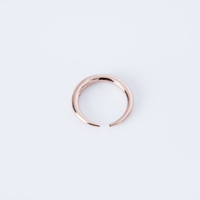 Gabriela Artigas Infinite Tusk Ring 14K Rose Gold Plated