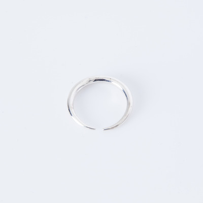 Gabriela Artigas Infinite Tusk Ring Silver Plated