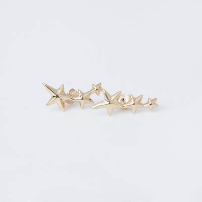 Gabriela Artigas 10K Shooting Star Earrings