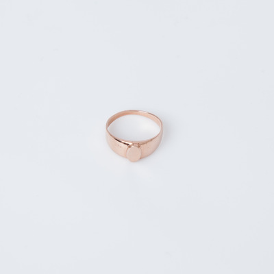 Gabriela Artigas 10K Rose Gold Baby Signet Ring