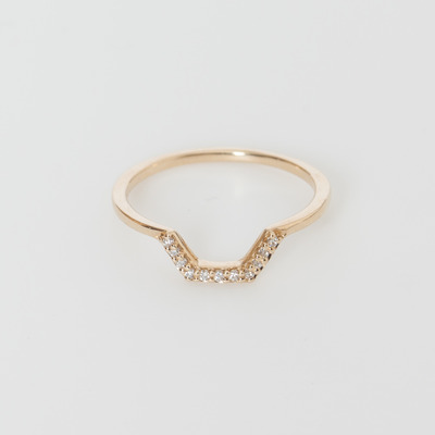 Anna Sheffield Bea Band 14K Yellow Gold