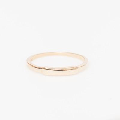 Vale Gold Segment Ring