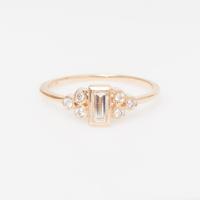 Vale Ophelia Baguette Ring