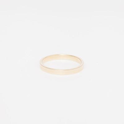 No.3 14K Gold Supra Midi Ring